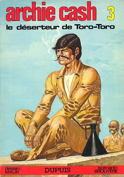 Couverture de Archie Cash -3- Le déserteur de Toro-Toro