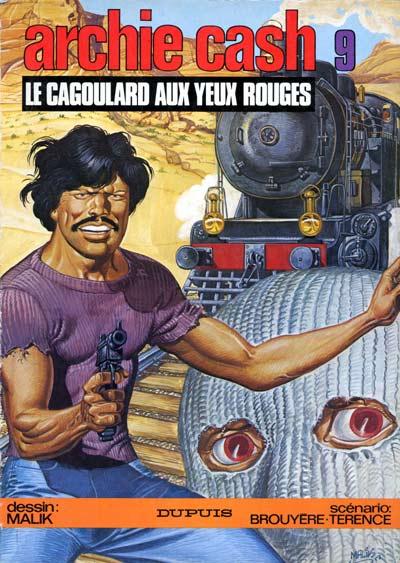 Couverture de Archie Cash -9- Le cagoulard aux yeux rouges