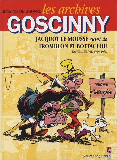 Couverture de Les archives Goscinny -19591968- Jacquot le Mousse suivi de Tromblon et Bottaclou 1959-1968