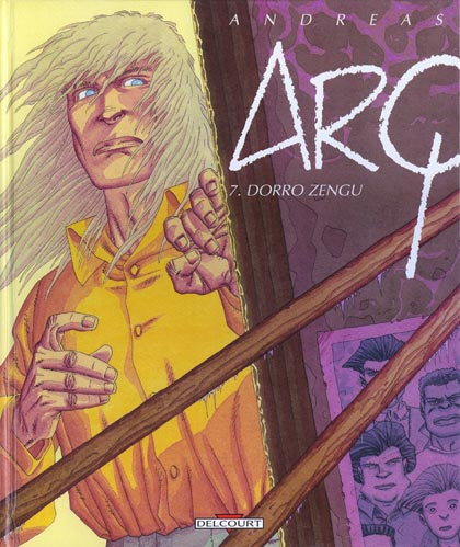 Couverture de Arq -7- Dorro Zengu