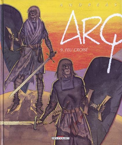 Couverture de Arq -9- Feu croisé
