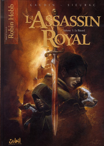 Couverture de L'assassin Royal -1- Le bâtard
