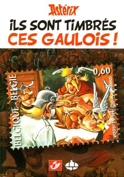 Couverture de Astérix (Autres) -Timbre1TL- Ils sont timbrés ces Gaulois !