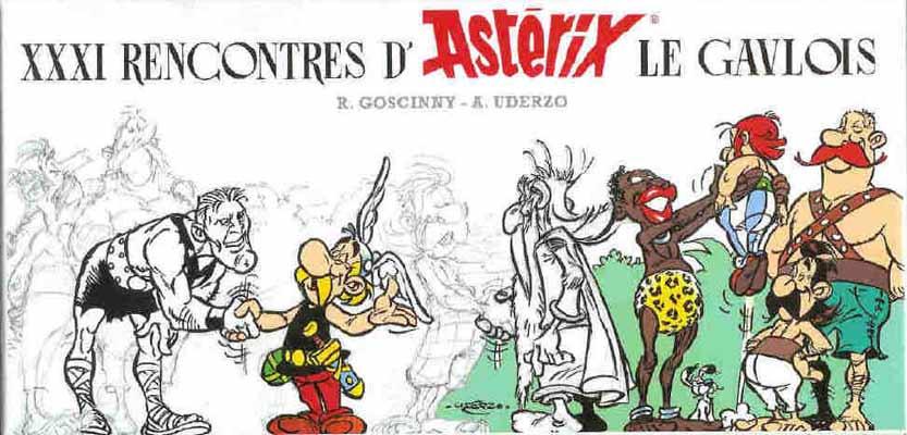 Couverture de Astérix (Autres) -17- XXXI rencontres d'Astérix le Gaulois