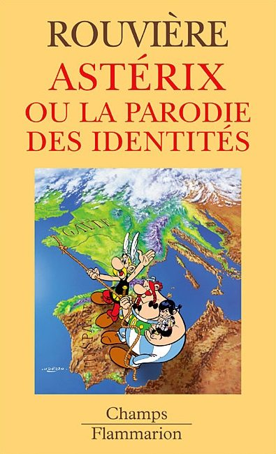 Couverture de Astérix (Autres) -29- Astérix ou la parodie des identités