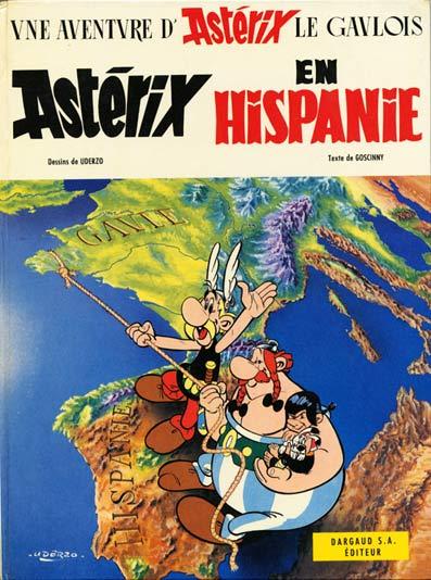 Couverture de Astérix -14- Astérix en Hispanie