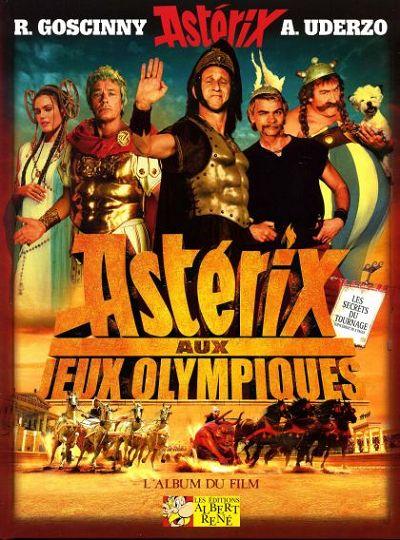 Couverture de Astérix (Hors Série) -C07- Astérix aux jeux olympiques - l'album du film