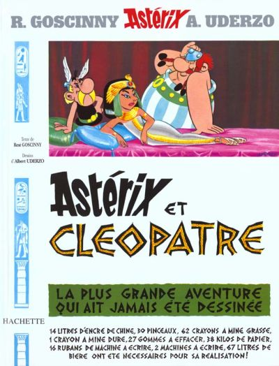 Couverture de Astérix (Hachette) -6- Astérix et Cléopâtre