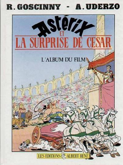 Couverture de Astérix (Hors Série) -C02- Astérix et la Surprise de César - L'Album du film