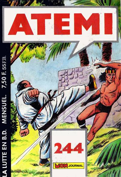Couverture de Atemi -244- Beppo le grec