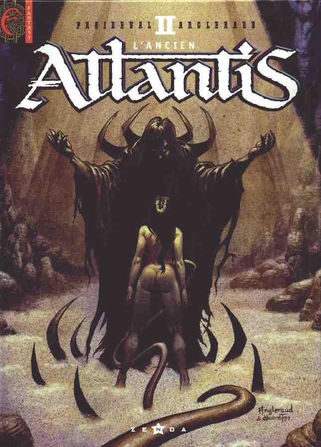 Couverture de Atlantis -2- L'Ancien