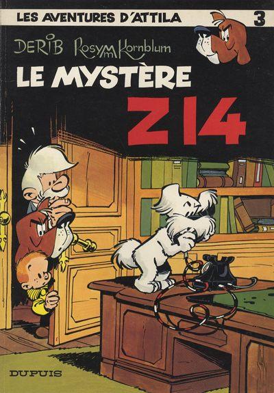Couverture de Attila (Les aventures d') -3- Le mystère Z 14