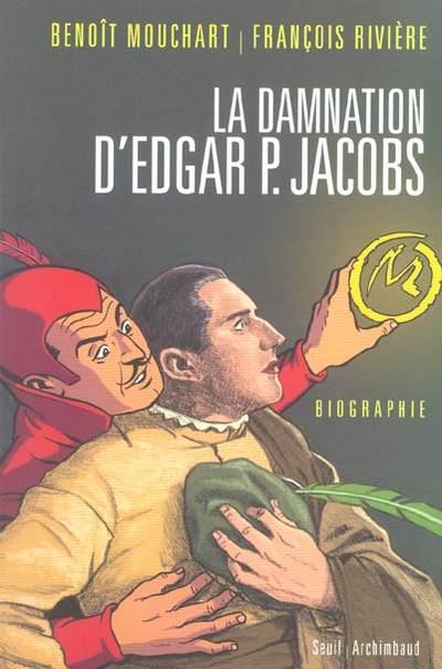 Couverture de (AUT) Jacobs, Edgar P. -12- La Damnation d'Edgar P. Jacobs