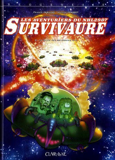 Couverture de Les aventuriers du NHL2987 Survivaure -3- Le Cycle des Krygonites C.3