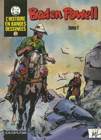 Couverture de Baden Powell (Jijé) -1- Baden Powell - Tome 1