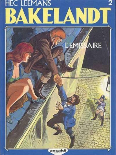 Couverture de Bakelandt -2- L'émissaire