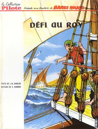 Couverture de Barbe-Rouge -4- Défi au Roy