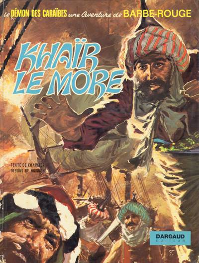 Couverture de Barbe-Rouge -15- Khaïr le More