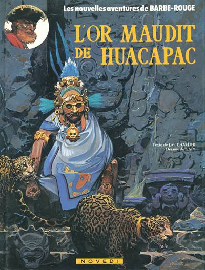Couverture de Barbe-Rouge -23- L'or maudit de Huacapac