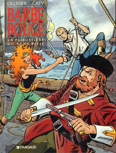 Couverture de Barbe-Rouge -28- La flibustière du sans pitié