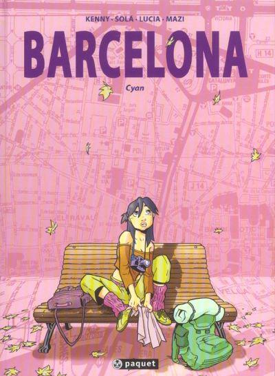 Couverture de Barcelona -1- Cyan