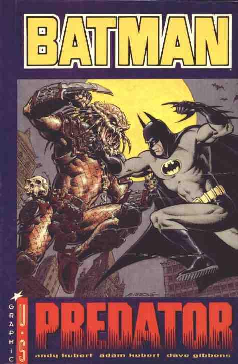 Couverture de Batman (Comics USA - Graphic U.S) -2- Predator