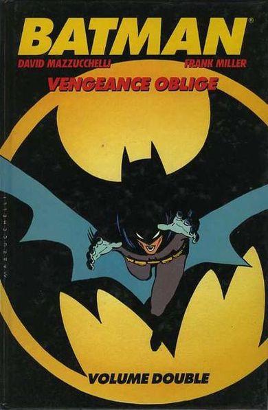 Couverture de Batman : Année un -INT- Vengeance Oblige