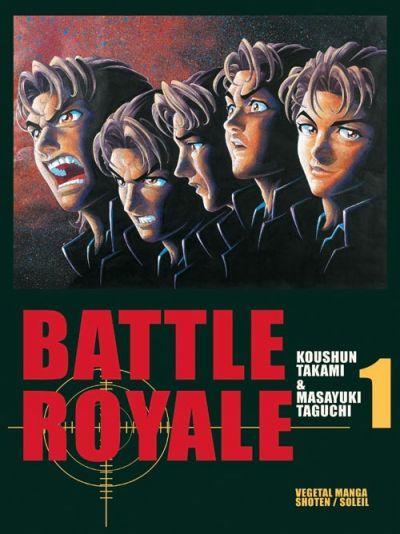 Couverture de Battle Royale -1- Le pire jeu jamais inventé