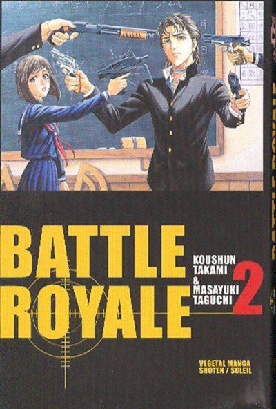 Couverture de Battle Royale -2- Kazuo Kiriyama