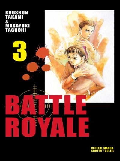Couverture de Battle Royale -3- Tristesse