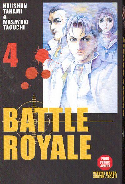 Couverture de Battle Royale -4- La fierté