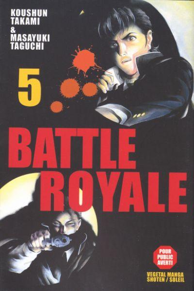 Couverture de Battle Royale -5- Soulèvement