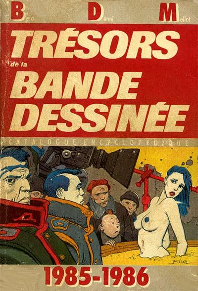 Couverture de (DOC) BDM -5- Trésors de la Bande Dessinée 1985-1986