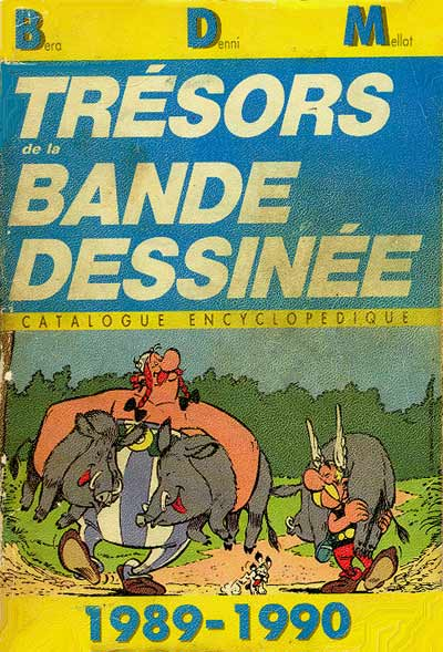 Couverture de (DOC) BDM -7- Trésors de la Bande Dessinée 1989-1990