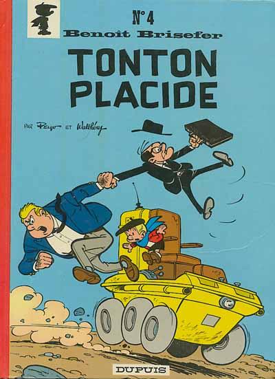 Couverture de Benoît Brisefer -4- Tonton Placide