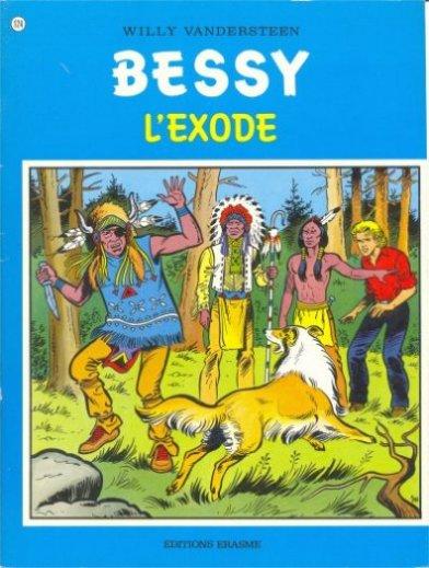 Couverture de Bessy -124- L'exode