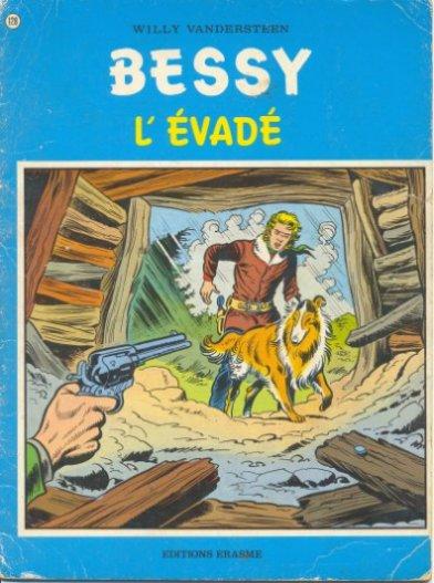 Couverture de Bessy -128- L'évadé