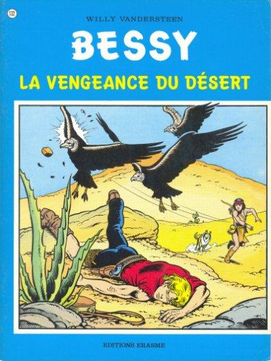 Couverture de Bessy -132- La vengeance du désert