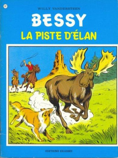 Couverture de Bessy -137- La piste d'élan
