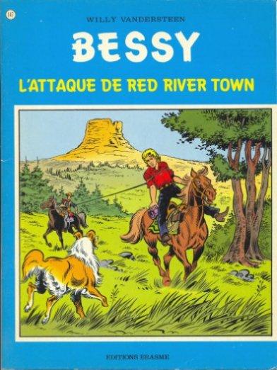 Couverture de Bessy -147- L'attaque de Red River Town