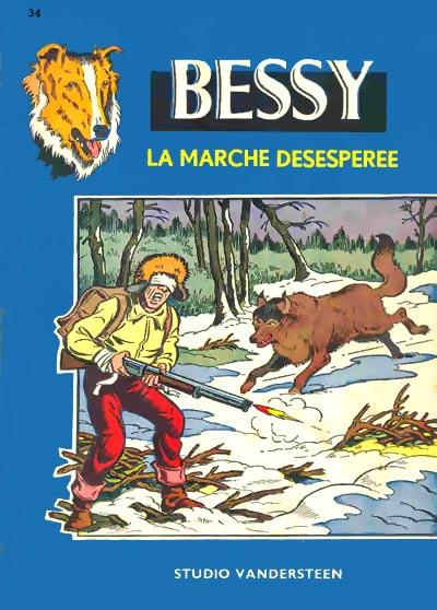 Couverture de Bessy -34- La Marche désespérée