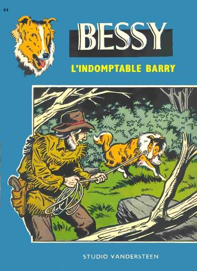 Couverture de Bessy -44- L'indomptable Barry