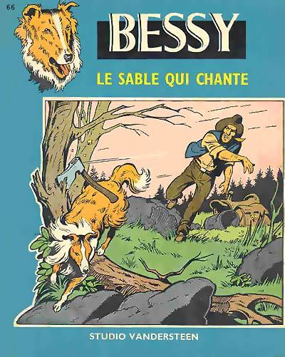 Couverture de Bessy -66- Le sable qui chante