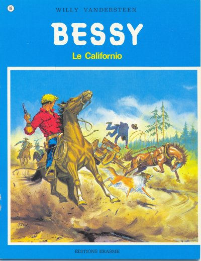 Couverture de Bessy -86- Le californio