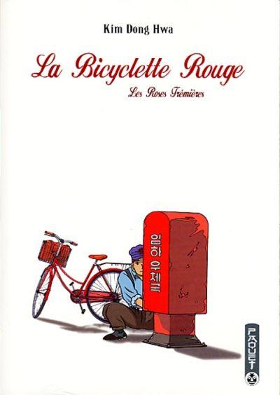 Couverture de La bicyclette rouge -2- Les Roses Trémières