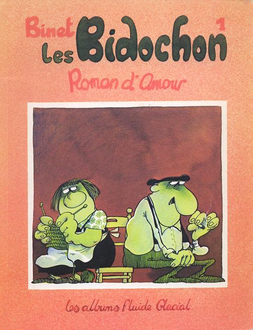 Couverture de Les bidochon -1- Roman d'amour