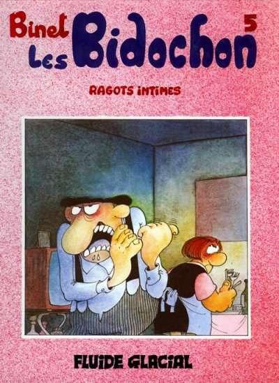 Couverture de Les bidochon -5- Ragots intimes