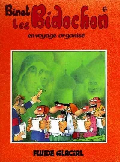 Couverture de Les bidochon -6- Les Bidochon en voyage organisé