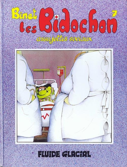 Couverture de Les bidochon -7- Les Bidochon, assujettis sociaux
