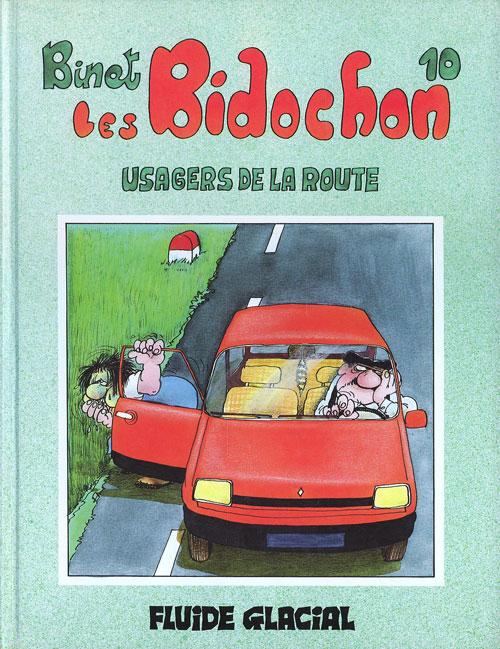 Couverture de Les bidochon -10- Les Bidochon usagers de la route